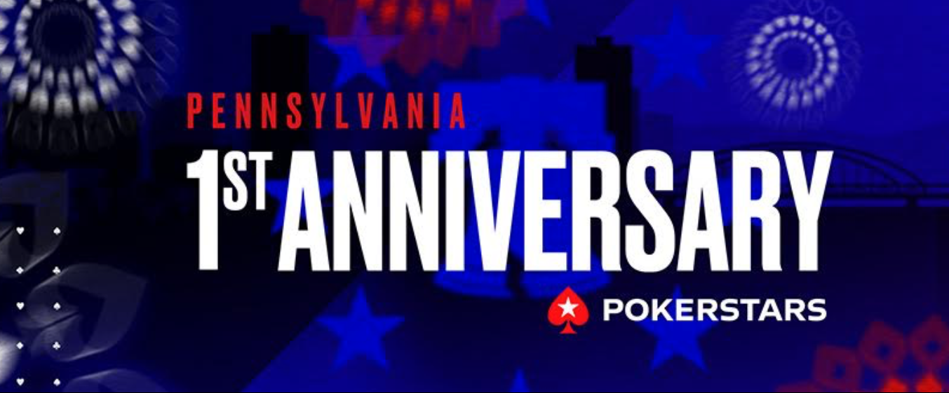 $1 Million Up for Grabs at PokerStars Anniversary Series in Pennsylvania