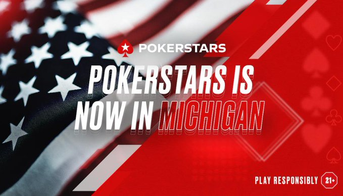 PokerStars Launches Online Poker in Michigan