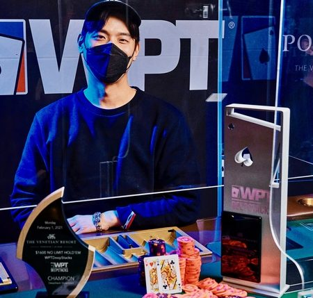 Sung Joo Hyun Emerges as the Winner of the 2021 WPT DeepStacks Venetian Main Event
