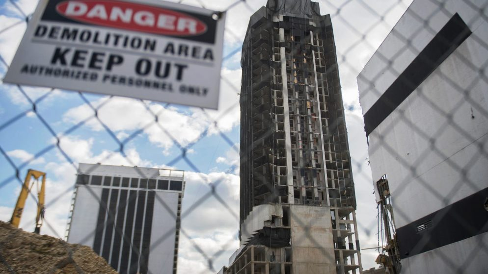 Trump Plaza Demo This Week; What Will Happen After the Implosion?