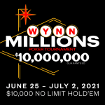Wynn Las Vegas Announces Summer Classic Details Including New Wynn Millions Event