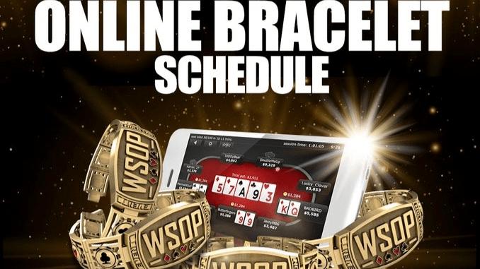 WSOP Announces Online Series Domestic Schedule Details