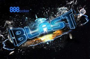 888poker's BLAST Jackpot Sit & Go Hit for $1m